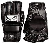 Bad Boy Men's Pro Series 2.0 Gel MMA Gloves - Black, Small/Medium