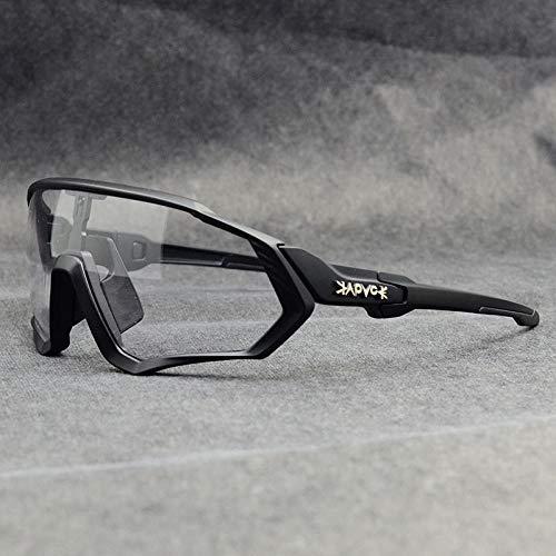 ZZKHSM Gafas fotocromáticas Gafas Ciclismo Exteriores