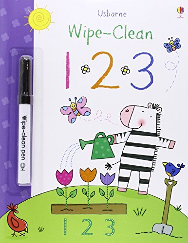 Wipe-Clean 123 (Wipe-clean Books)