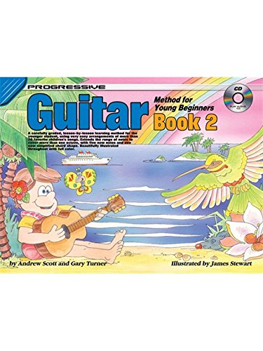 Progressive Guitar Method For Young Beginners: Book 2. Für Gitarre (Method Progressive Guitar)
