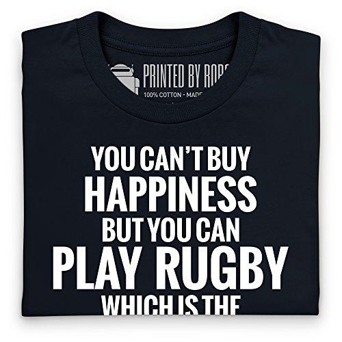 Play Rugby T-Shirt, Damen Schwarz