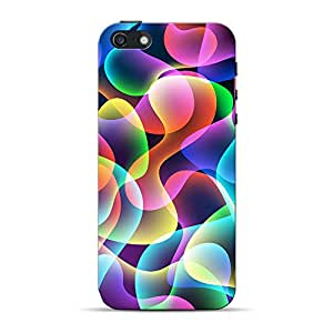 Mobile Back Cover For Apple iPhone SE (Printed Designer Case)