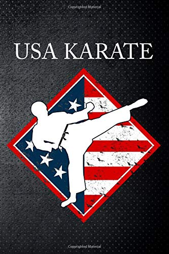 USA Karate: Martial Art Fan 6x9' Journal / Notebook 100 page lined paper
