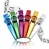 Best Kazoos - Kazoos Multipack Metal kazoo Instrument, Set of 6 Review
