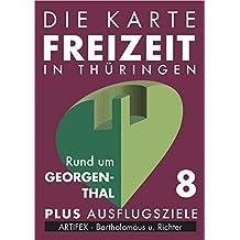 Die Karte - Freizeit in Thüringen - Nr.8 - Rund um Georgenthal