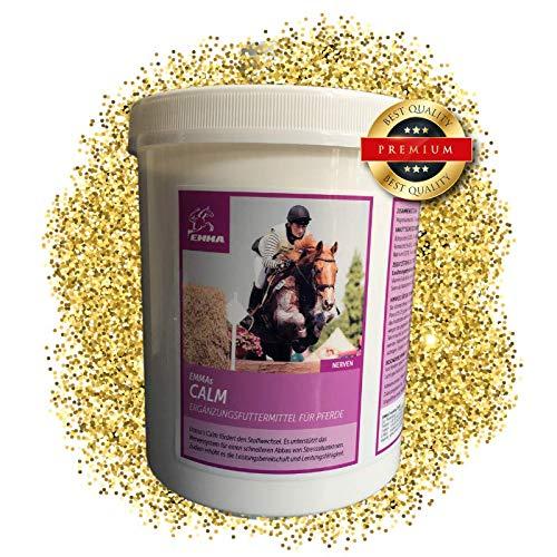 EMMA Magnesium Vitamin E fürs Pferd I Calm I Pferdefutter Plus Magnesium & Vitamin E - Starke...