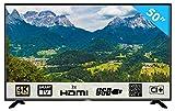 HKC 50F1 127 cm (50 Zoll) LED Fernseher (4K Ultra HD Smart TV, Triple Tuner für DVB-T T2, C, S / S2) [Energieklasse A]