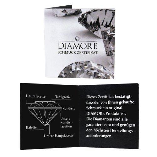 Diamore Damen-Ring 925 Sterling Silber Diamant weiß 0605970913 - 5