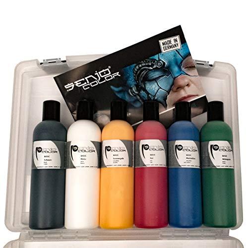 enjo-Color BASIC 6x 250ml Set im Koffer ()