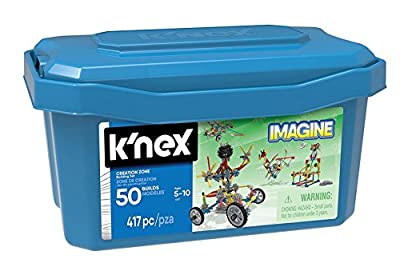K'Nex 16511 Creation Zone 50 Model Building Set Construction Toy, Multi