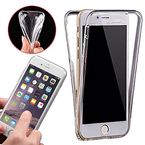 Price comparison product image Front & Back Fully Protection Clear Gel Skin Case Cover iPhone 6 6S