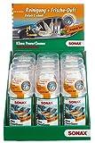 SONAX 12x Klimaanlagenreiniger/-desinfizierer KlimaPowerCleaner Tropical Sun inkl. Theken Display