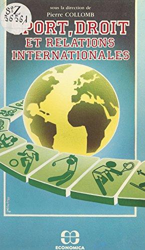 Sport, droit et relations internationales