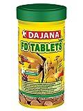 Dajana Tablets Adhesive–Futtermittel in Tabletten für alle Arten von Fischen im Aquarium