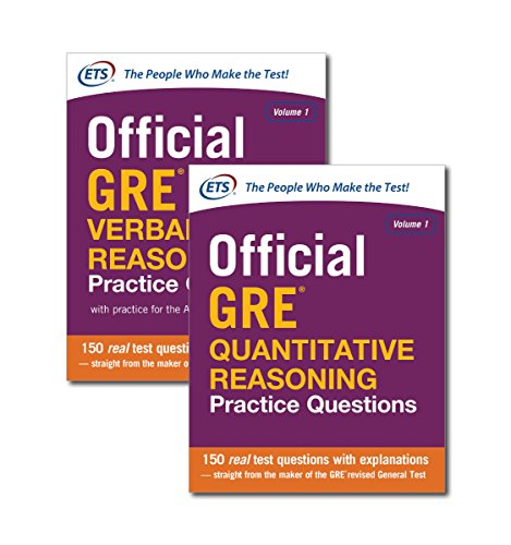 1: Official GRE Value Combo