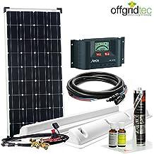 Offgridtec Solaranlage für Wohnwagen Sm100 / 12 V - Komplett-Set für Wohnmobil, 100 W, 002710