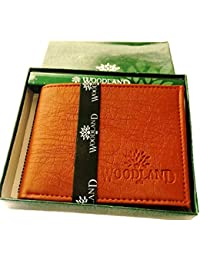 Woodland Brown And Tan Men's Wallet