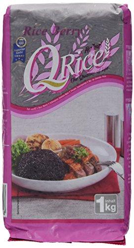 Q Rice Berry – Reis, 3er Pack (3 x 1000 g)