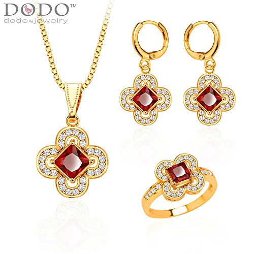 new-trendy-jewelry-set-women-party-gift-18k-gold-plated-zircon-crystal-necklace-earrings-ring-jewelr