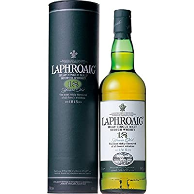LAPHROAIG 18 Year Old Islay Malt Whisky 70cl Bottle