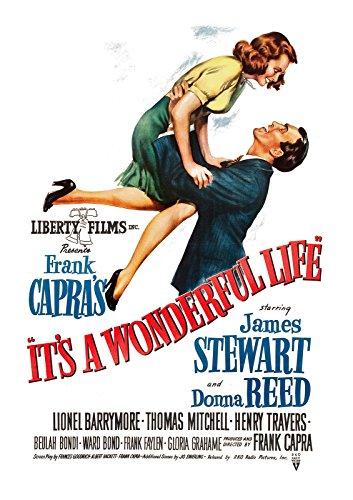 It 's a Wonderful Life Vintage Posters-Póster en inglés de la película A3