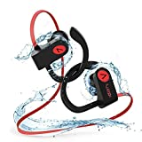 Auriculares Bluetooth Deportivos, Voberry Bluetooth 4.1 Impermeable IPX7 In-Ear Cascos Inalámbricos con Micrófono, Cancelación de Ruido CVC6.0 para Running Correr Deporte