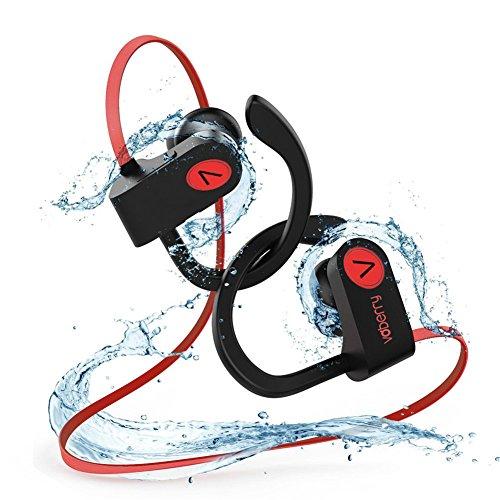 Foto de Auriculares Bluetooth Deportivos,Voberry IPX7 Impermeable Auriculare inalambricos Running Sport,10 Horas,Ruido de Cancelación CVC 6.6, Sonido Estéreo Micrófono