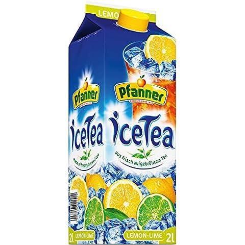 pfanner té helado Lemon–Lime, 6pack (6x 2l)
