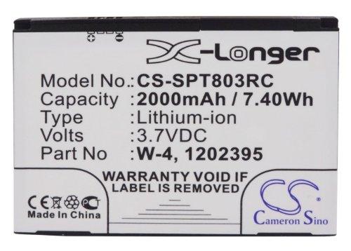 CS-SPT803RC Akku 2000mAh Kompatibel mit [Sierra Wireless] 803S 4G LTE, Aircard 803S, AirCard SW760, SWAC803SMH, [Sprint] 803S 4G LTE, Aircard 803S, SWAC803SMH Ersetzt 1202395, W-4 Sierra Wireless Aircard