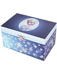Trousselier - La Reine des Neiges - Frozen - Grande Boite à Bijoux Musicale Elsa - Libérée Délivrée - Let It Go