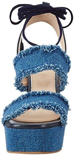 Steffen Schraut 150 Brevity Lane, Sandales  Bout ouvert femme Bleu jean