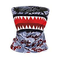 3D Printing Seamless Face Mask Bandanas for Dust, Music Festivals, Raves, Riding, Outdoors (wampire face)