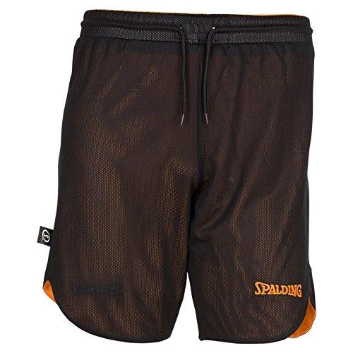 Spalding Kinder Bekleidung teamsport Doubleface Trikot set, orange/schwarz, 128 cm, 300401006