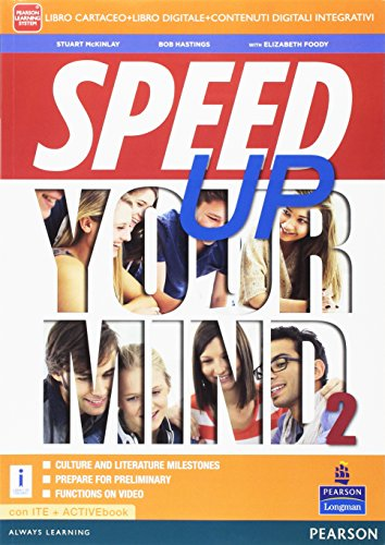Speed up your mind. Per le Scuole superiori. Con e-book. Con espansione online: 2