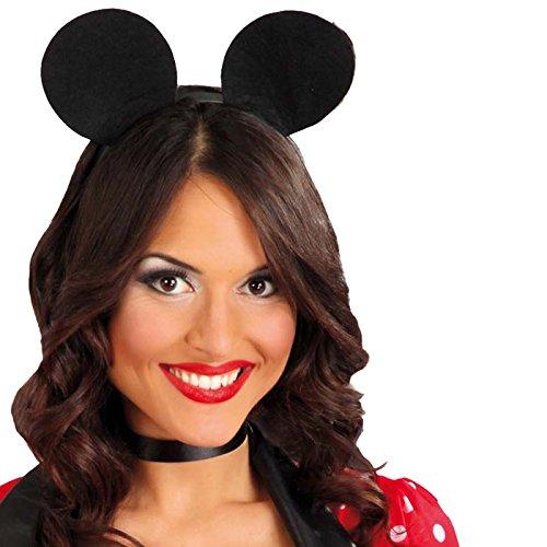 Guirca Fiestas GUI18387 - Maus-Diadem (Halloween De Maus Minnie Disfraz)