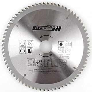 Kreissägeblatt 210mmx72T für Aluminium Kunststoff NE-Metalle Sägeblatt