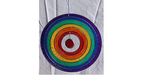 Cercle en Forme de Arc-en-verre Sun Catcher