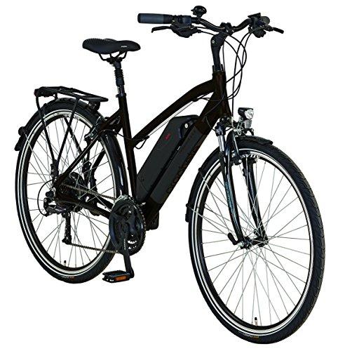 "Prophete E-Bike, 28"", Entdecker e8.6, Hinterradmotor, 36V,250W, max.30 Nm, SHIMANO 24-Gang Kettenschaltung, AEG Downtube-Akku, Lithium-Ionen, 36V, 10,4Ah (374Wh), Alu-Trekking-Premium-Rahmen"