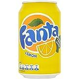 Lata fanta limon  33 cl