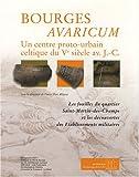 Bourges Avaricum : un centre proto-urbain celtique du Ve siècle av. J-C, 2 volumes : Les fouilles du quartier Saint-Martin-des-Champs et les découvertes des établissements militaires