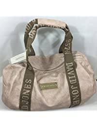 Sac polochon David Jones CM0045 - coloris Rose pâle