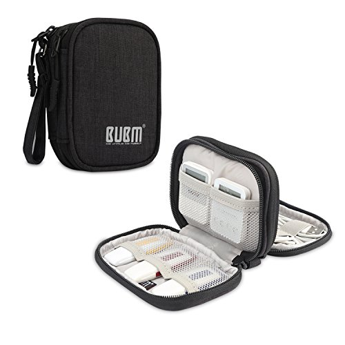BUBM Bolsa para Pendrives USB Organizador de Cables Funda para Elèctronica