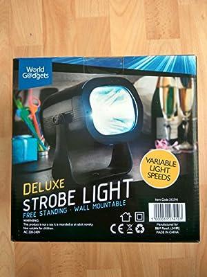 Deluxe Strobe Light Variable Light Speed DJ Party Disco
