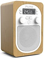 Pure Evoke H2 Portable Digital DAB/DAB+ and FM Radio with Alarm - Oak
