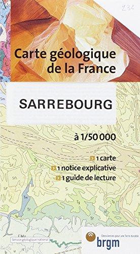 Carte géologique : Sarrebourg
