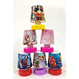 Shopkooky Cartoon Printed LED Night Lamps Perfect for Your Kids Room / Return Gift / Birthday Gifts Online - Pack of 6 (units)