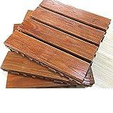 Massivholz-bodenbeläge Mosaik Parkette Balkon Floor Terrasse Floor Garten Floor Outdoor Wood Parkette