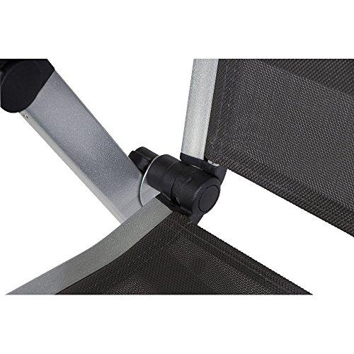 MWH 879102 Elements Klappsessel Aluminiumgestell silber