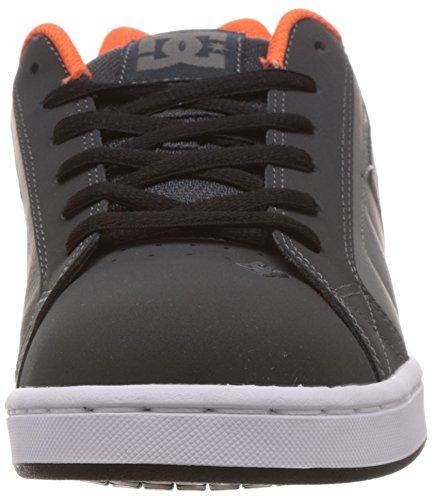 DC Net - Sneakers da uomo Multicolore(Mehrfarbig (GREY/ORANGE/GREY-XSNS))