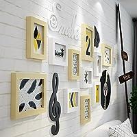 Muro fotográfico creativo / Muro creativo para portarretratos / Portaretrato / pared de madera, Muro